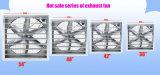 Ventilateur lourd de marteau de ventilateur d'extraction de ventilation de 44 pouces pour la serre chaude/volaille/usine