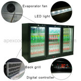 Apex European Style Glass DOOR Back Bar Chiller Beer Cooler Display Back Bar Refrigerator