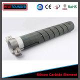 Elementos de aquecimento do carboneto de silicone para a fornalha
