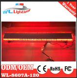 Barre de lumière d'avertissement de trafic de police d'urgence de LED Amber / White
