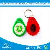 presente de promoção de moda personalizada NFC RFID Tag de chave de PVC chaveiro