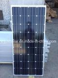 最下の価格のグリーン電力のための100Wモノクリスタル太陽電池パネル
