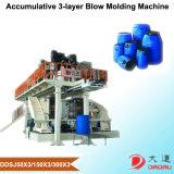 3つの層の空のプラスチック製品の生産のための放出の打撃の形成機械