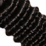 インドのバージンのRemyの毛の織り方の自然な人間の毛髪の織り方