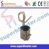 elemento de calefacción del acero inoxidable del calentador de venda de la mica de 35*60m m para la máquina de la inyección