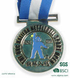 승진 (xd-09049)를 위한 은 스포츠 Souvennir 포상 메달 큰 메달