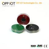 Impressão a laser e por escrito a RFID UHF Etiqueta de Metal