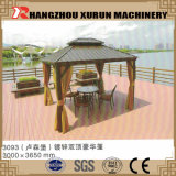 Panneau de toit pavillon machine à profiler pour l'acier de loisirs