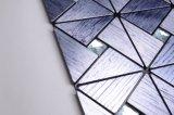 Diseño exclusivo, la plata Espejo Mosaico de cristal