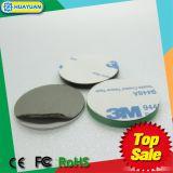 주문을 받아서 만드는 Ntag216 반대로 금속 RFID NFC 스티커 꼬리표 인쇄