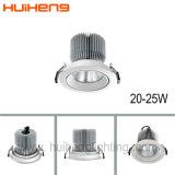 Spezieller Entwurf LED vertiefter PFEILER 25W drehbarer Scheinwerfer