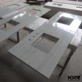 Countertop кухни ванной комнаты каменный твердый поверхностный выполненный на заказ