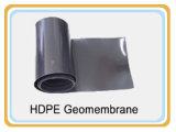 ASTM HDPE/LDPE/LLDPE standard Geomembrane con superficie regolare