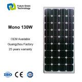 Comitato solare monocristallino 130W del fornitore con Ce