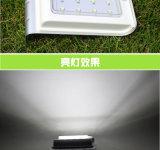 1W 옥외 LED 정원 빛 태양 벽 빛