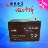 6-Dm-16 (12V12AH) Dongjin Silk Drucken-tiefe Schleife AGM-Solarbatterie