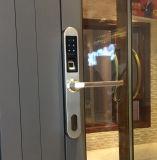 ヨーロッパ式の最も薄くスマートな指紋のタッチパッドのドアロック