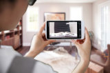 Pangoo 5.5HD 5.5 인치 접촉 스크린과 2HD 사진기를 가진 소형 전자 영상 돋보기 독서 원조