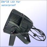 Водонепроницаемый 15W 18 для использования вне помещений этап лампа LED PAR лампа