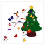 中国の製造者からの卸し売り安いフェルトのクリスマスツリーの装飾