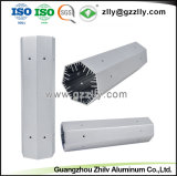 Dispositivo di raffreddamento di alluminio dell'espulsione/radiatore di alluminio per materiale da costruzione