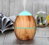 Seul diffuseur électrique portatif en bois d'arome des graines 300ml avec le changement de 7 couleurs