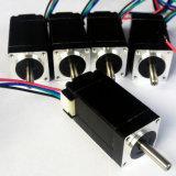 20mm 1.8degree 0.6A 4wiresの高精度NEMA 8の段階モーター