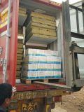 """Panneaux """"sandwich"""" en acier galvanisés par couleur de Rockwool pour des matériaux de construction"""