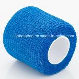 귀영나팔 처분할 수 있는 자동 접착 탄력 있는 붕대 그립 덮개 테이프