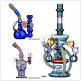 [هبكينغ] حيوانيّ شكل زجاجيّة صغيرة [أيل ريغ] زجاج يدخّن [وتر بيب] زجاج فنّ