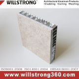 L'aluminium panneau de paroi extérieure du panneau alvéolé