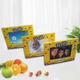 Personifizierter Gummi-Belüftung-Produkt-Geschenk-kundenspezifischer Andenken-Foto-Rahmen