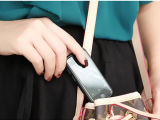 De nieuwe Telefoon van de Kern van de Vierling van de Aankomst 7s Mini Slimme 3G, de MiniTelefoon van de Kaart met GPS WiFi