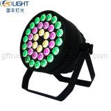 원형 통제 36*10W RGBW 4in1는 LED 동위 빛을 방수 처리한다