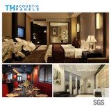 Comitato acustico decorativo della fibra di poliestere della prova di fuoco per l'hotel/ristorante/ingresso