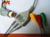 General/Newtech einteiliges ECG Kabel mit Leitungsdrähten