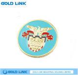 Souvenir fait sur commande de pièce de monnaie d'enjeu de promotion de médaille de pièce de monnaie d'aigle de pièce de monnaie en métal