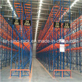 고품질 조정가능한 창고 깔판 선반 (VNA)