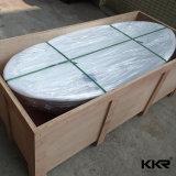 Bañera libre de piedra superficial sólida popular del nuevo diseño