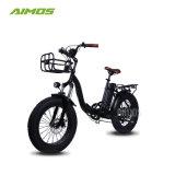 2018 شعبيّة [20ينش] [48ف] [500و] إطار العجلة سمين يطوي درّاجة كهربائيّة/[إبيك] من الصين مصنع