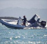 Vente gonflable de bateaux de Hypalon de fibre de verre de bateau de côte de Liya 22feet Chine