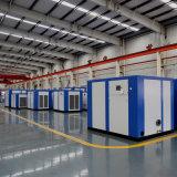 Неподвижный электрический смазанный компрессор воздуха винта для промышленного генератора кислорода