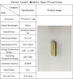 Garantia Qualiy personalizável de cor verde 532nm 20MW Acc Módulo Laser
