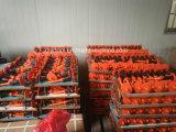 3PCS de professionele Stempel van de Spijker die in Plastic Geval (PC-6-1) wordt geplaatst