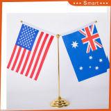 オフィスの装飾のためのカスタムオーストラリア表のフラグの立場