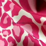 De Stof van de Huid van de Perzik van de polyester met het &Printing W/R voor Laag