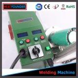 Máquinas del soldador de la soldadura del PVC de la bandera de la flexión del aire caliente para el Portable de la soldadora de la venta/PVC
