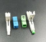 Aus optischen Fasern schneller Verbinder für Steckschnür traf im Netz und im Radioapparat zu