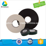 2.0mm Lösungsmittel anhaftendes Zweischichten-PET Schaumgummi-Band (Weiß/Black/33kg/m3/BY3020)