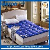 ガチョウの羽ベッドのマットレスの上層、メモリ泡のベッドの上層